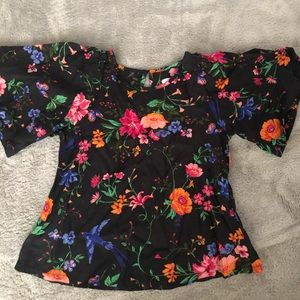 Old Navy Flair sleeves Blouse